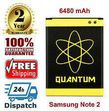 Quantum 6480mAh Extended Slim Battery For Samsung Galaxy Note2 i317
