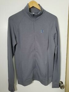 1 NWT UNDER ARMOUR WOMEN'S JACKET, SIZE: LARGE, COLOR: GRAY (J110)
