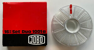 Very Rare Vintage JOBO 16mm Set Duo 1001a Developing Tank Spool 16mm or 110 Film