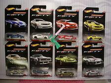2017 CAMARO FIFTY Years 67,69,81,85 IROC,95,13,10, COPO Hot Wheels Walmart 8 set