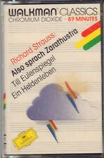 """RICHARD STRAUSS """"ALSO SPRACH ZARATHUSTRA """" MUSICASSETTA SIGILLATA D. GRAMMOPHON"""