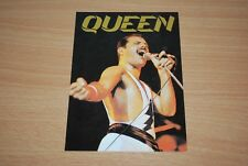 RARE OOP QUEEN / FREDDIE MERCURY PROMO POST CARD. UNUSED.