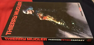 SIGNED Thierry Mugler FASHION FETISH FANTASY 1998 1st Edition Book. Rare