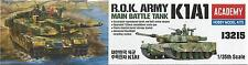 ACADEMY 1:35 CARRO ARMATO R.O.K. ARMY K1A1 MAIN BATTLE TANK ART 13215