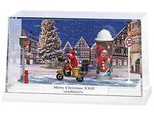 BUSCH 7638 H0 Diorama Merry Christmas XXIII Geblitzt ++ NEU & OVP ++