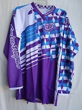 TROY LEE DESIGNS TLD motocross GIRL GP  jersey EXTRA LARGE purple 0751-1111