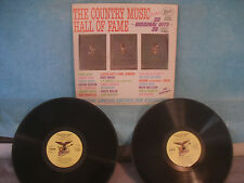 The Country Music Hall of Fame, Starday SLP 9-190, 2 LPs, See Artist List Below