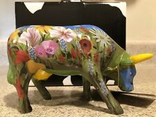 Cow Parade La Dolce Vida (The Sweet Life) Collectible New With Original Tag/Box