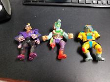 Vintage Playmates Toys Toxic Crusaders lot of 3 figures, nice!