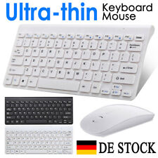 PC Computer Wireless Tastatur Maus-Set Funk Keyboard Kabellos Bluetooth Neu