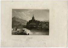 Antique Print-VIEW OF JANINA-ALBANIA-Meyer-1840