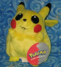 Pokemon Pikachu Plush Doll 1999 Play by Play Nintendo Next Day USA Shipping