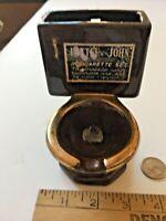 Vintage Norcrest Toilet Cigarette Tobacco Ashtray Holder Pottery SKU 027-012