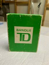 Vintage TD Bank ATM Green Machine Coin Bank (FRENCH VERSION) WHIT BOX