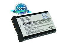 3.7V battery for Casio Exilim EX-FH100BK, Exilim EX-H20G, Exilim EX-H15, Exilim