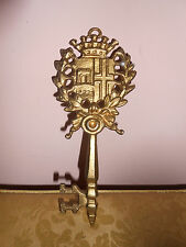 Large heavy metal skeleton key wall decoration