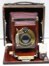 1901 Korona I by Gundlach, Manhatten Optical Co. Red Bellows, View Plate Camera