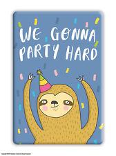 Fridge Magnet Funny Humour Novelty Joke Cheap Present Birthday Gift Sloth