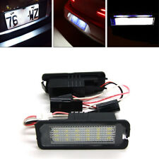 2x LED Number License Plate Light For VW GOLF MK4 MK5 MK6 PASSAT EOS ERROR FREE