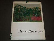 1942 HENRI ROUSSEAU BY DANIEL CATTON RICH HARDCOVER BOOK - KD 1350U