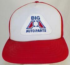 VINTAGE BIG A AUTO PARTS MESH BACK TRUCKER  HAT SNAPBACK CAP
