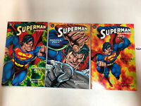 Superman Doomsday Hunter/Prey (1994) #1 2 3 1-3 (VF/NM) Complete Set DC