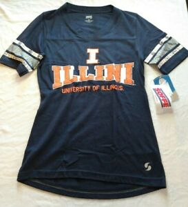 University of Illinois Illini T-shirt Ladies X-Small