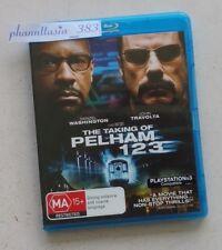 THE TAKING OF PELHAM 123 Blu-ray Disc, Australian Retail Version