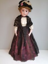 Simon & Halbig Antique German Bisque Doll marked S&H 1079 DEP 14 Germany 27""