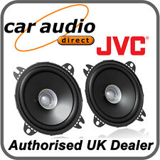 "JVC CS-J410X 10cm 4"" 210W DualCone Car Stereo Audio Speakers Door Shelf New Pair"