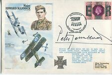 WW2 RAF Battle of Britain ace fighter pilot Peter Townsend signed cover