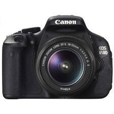 Canon EOS 650D Digital SLR Camera w/ 18-55mm IS Lens Kit