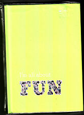 I'm All About Fun Journal Life Plus Style New York City Blank Journal