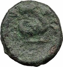 LAMPSAKOS in MYSIA 300BC Caduceus Pegasus Winged Horse Ancient Greek Coin i31840