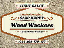 ~NEW LIGHT GAUGE Upright Double BASS WEEDWACKER STRINGS