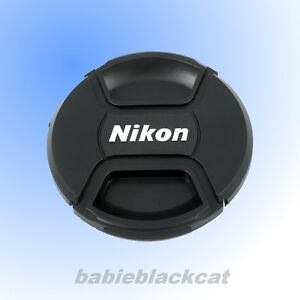NEW 62mm Front Lens Cap Snap-on Cover for Nikon Camera