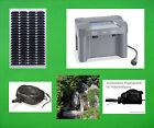 50 W pompa solare batteria solare stagno pompa cascata gioco d'acqua