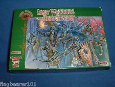 Dark alliance-light guerriers de la mort de cavalerie. échelle 1/72 plastique figurines
