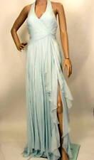 $548 NEW BCBG MAX AZRIA WOVEN SILK CHIFFON GOWN DRESS 6