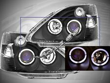 Fit For 2002-2003 Honda Civic SI Projector Headlights Black NEW