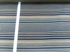 Tela de vestido Jersey Fino 150 cm de ancho Mezcla de algodón a rayas multicolor