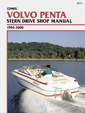 Clymer Volvo Penta Stern Drive Shop/Repair Manual, 1994-2000 (B771-2)