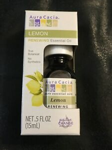 Essential oils,Aura Cacia, Lemon scent