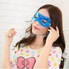 New Cool Gel Eye Mask Cold Pack Warm Heat Ice Sleeping Aid Tired Relief Mask