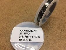 0.417mm x 10m 27 SWG Kanthal AF Resistance Wire Coil Rebuilding RBA RDA RTA