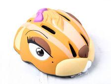 Crazy Sicherheit Fahrradhelm Radhelm Kid's Streifenhörnchen Helm Beige
