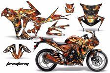 AMR Racing Graphic Kit Wrap Part Honda CBR250R Street Bike CBR 250R 10-13 FIREST