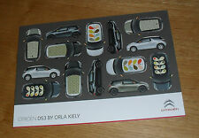 Citroen DS3 By Orla Kiely Brochure 2011