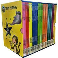 Start Reading Library 52 Books Collection Box Set Level 1 to 9 Children Early Re