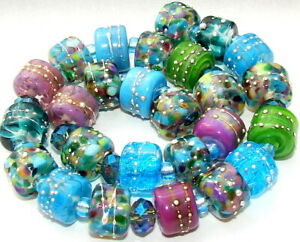 "Sistersbeads ""A-Alchemy"" Handmade Lampwork Beads"
